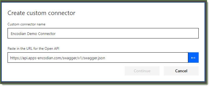 Create a dedicated Custom Connector – Encodian Customer Help